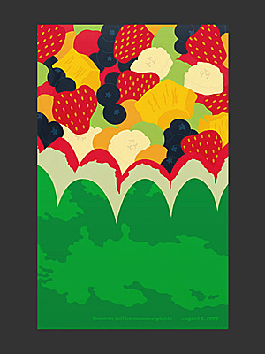 1977 Picnic poster