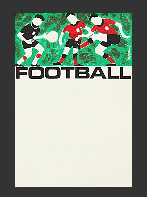 Football Poster: Cooper