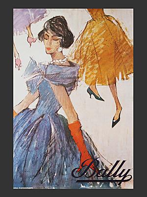 Bally Women Poster