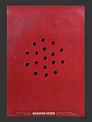 Bogomir Ecker Poster