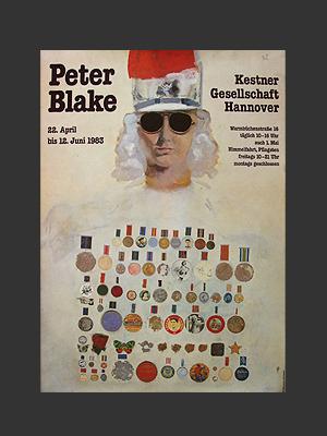 Peter Blake Poster