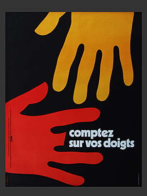 Count on Your Fingers Poster