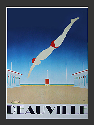 Deauville Poster