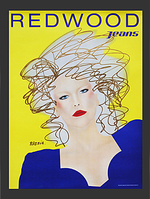 Redwood Jeans Poster