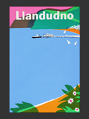 Llandudno Poster