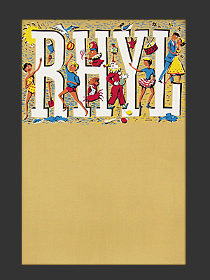 Rhyl people poster