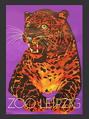 Leipzig zoo poster