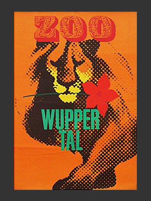 Wuppertal zoo Poster