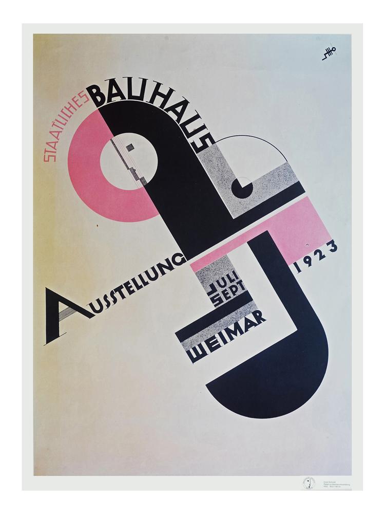 Bauhaus 1923 Poster