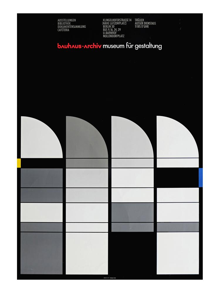 Bauhaus Archive Poster