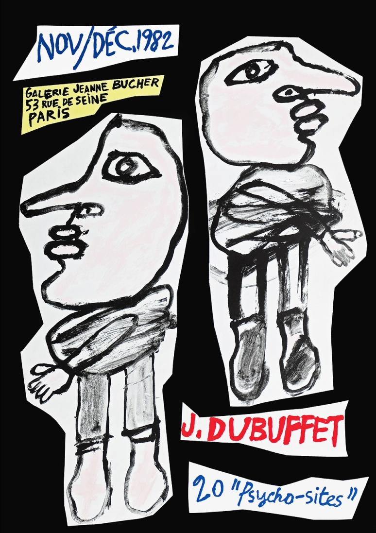 Dubuffet Poster