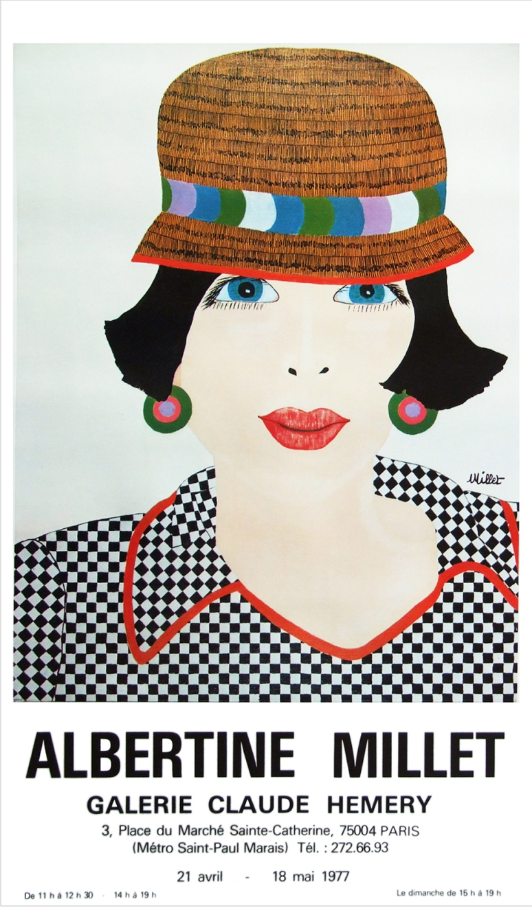 Albertine Millet poster
