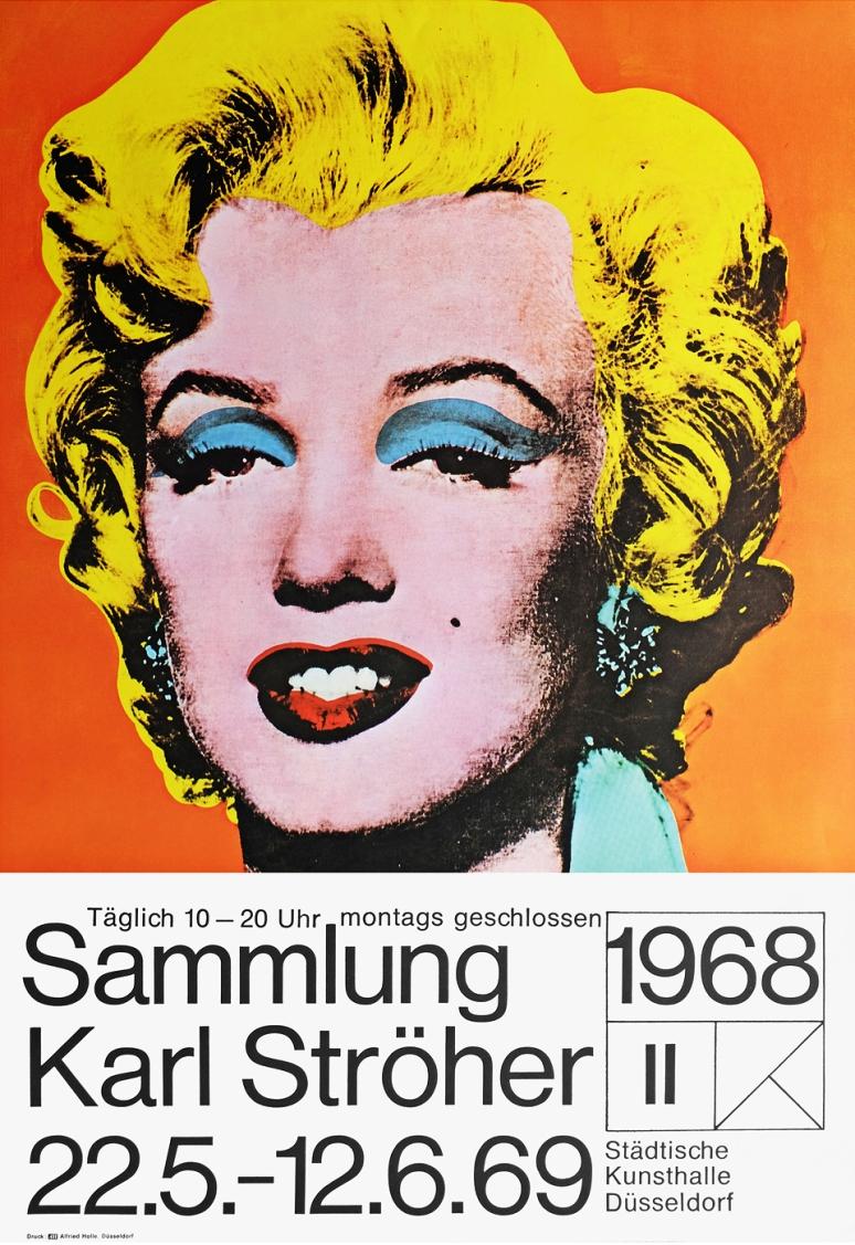 Warhol 68 Poster